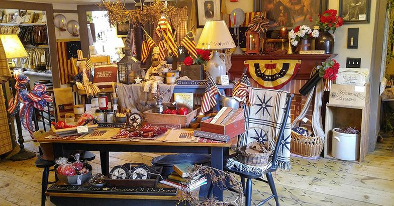 Brown & Hopkins Country Store, 1809, Chepachet, Rhode Island