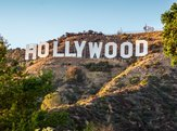 world famous landmark Hollywood sign