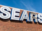Sears sign outside with broken letters