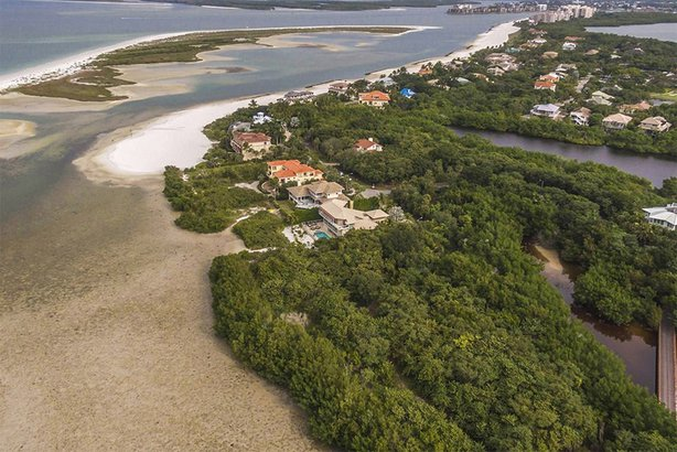 expensive beachfront property on Marco Island, Florida
