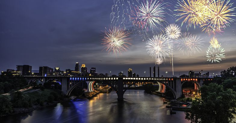 Red, White, and Boom, Minneapolis