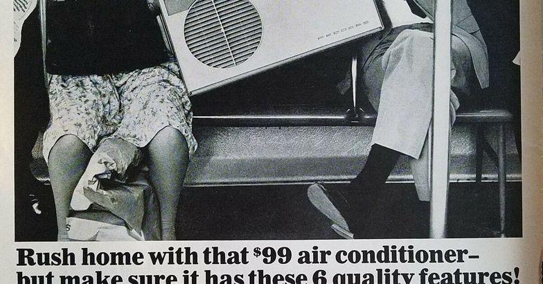 Vintage 1966 Fedders Air Conditioner Ad