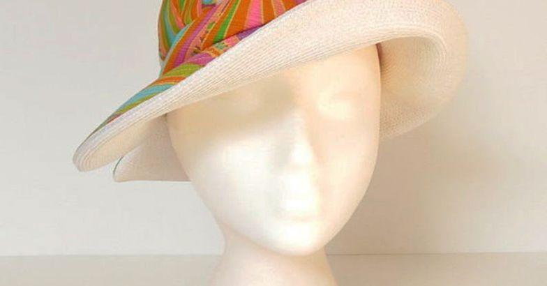 60s Vintage Sun Hat