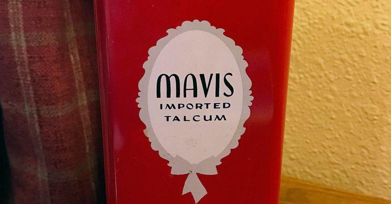 Mavis Talcum Powder