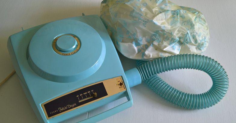 1960s Vintage Sears Salon Bonnet Hair Dryer