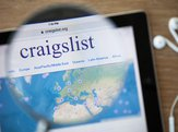 Craigslist on tablet