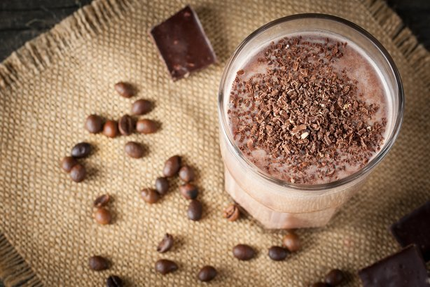 Coffee And Chocolate Smoothie