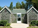 Glass Bottle House in Prince Edward Island, Canada