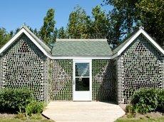 Glass Bottle House in Prince Edward Island, Canada