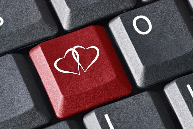 heart key on keyboard