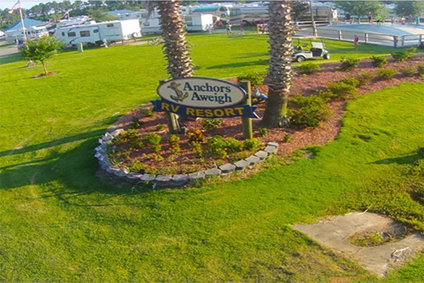 Anchors Aweigh RV Resort in Alabama