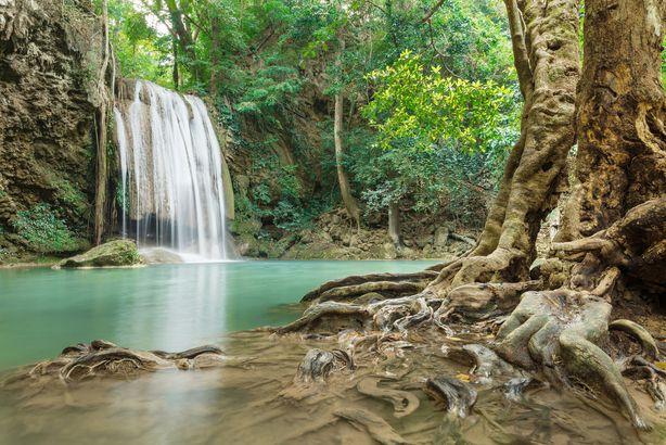 Erawan Falls, Erawan National Park, Thailand