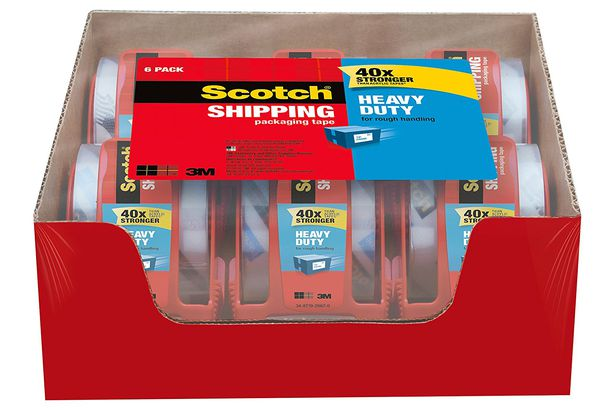 567ff477e Scotch Heavy Duty Shipping and Packing Tape