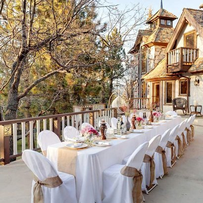 Edgewood mansion in Big Bear Lake, California