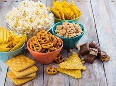 Assortment of snacks