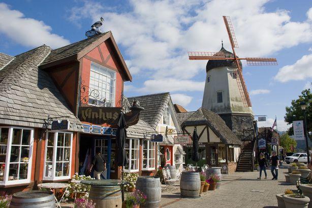 Denmark in Solvang, California