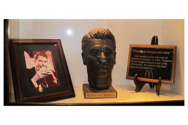 President Reagan Ate Here McDonald's, Alabama