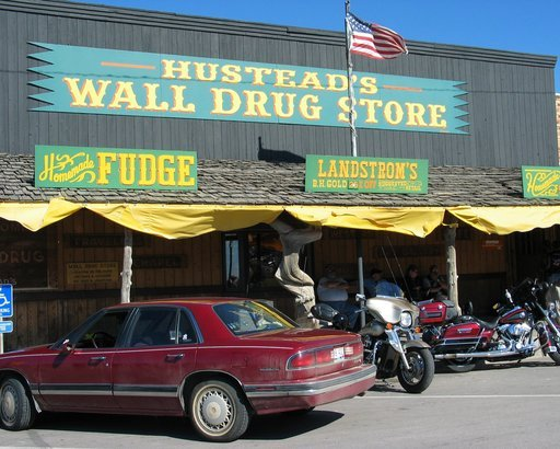 Wall Drug Store in Wall, SD