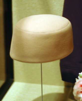 one of Jackie Kennedy's pillbox hats