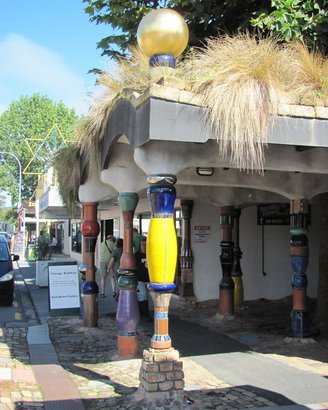 Kawakawa Public Toilets, New Zealand