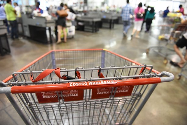 costco shopping cart