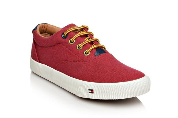 bbc1a0574612 Tommy Hilfiger Boys  Casual Canvas Sneakers