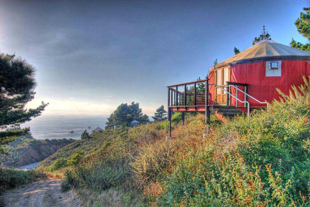 Treebones Resort in Big Sur, California
