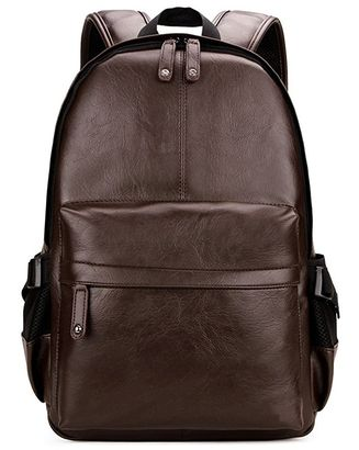 c9035325472 Kenox Vintage Faux Leather Backpack
