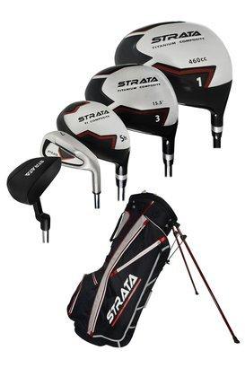 Strata Golf LH Strata Complete Set W/Bag Graph/Steel (Left Handed)