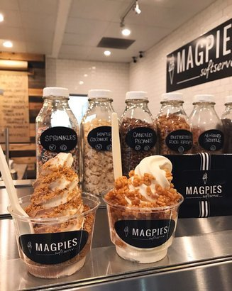 Magpies Softserve in Los Angeles, CA