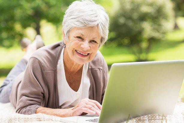 Seniors online