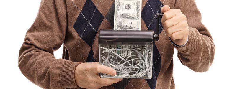 Ways Retirees Waste Money