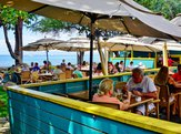 Aloha Mixed Plate, a popular beachside barbecue restaurant overlooking the beach in Lahaina