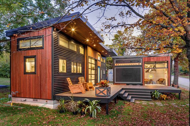 """Amplified"" Tiny House"