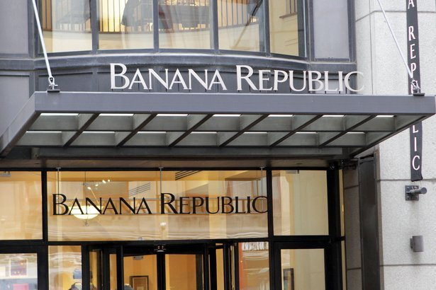 Banana Republic retail store in New York City
