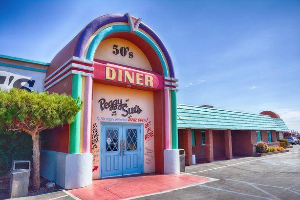 Peggy Sue's 50's Diner in Yermo, California