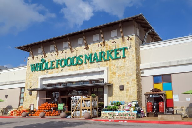 Whole Foods Market store front in Austin, TX