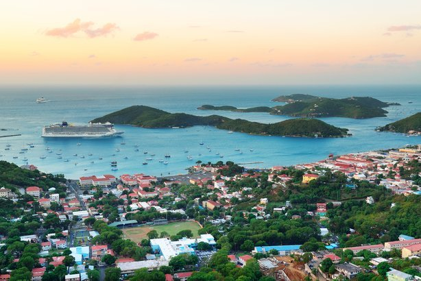 Virgin Islands St. Thomas sunrise
