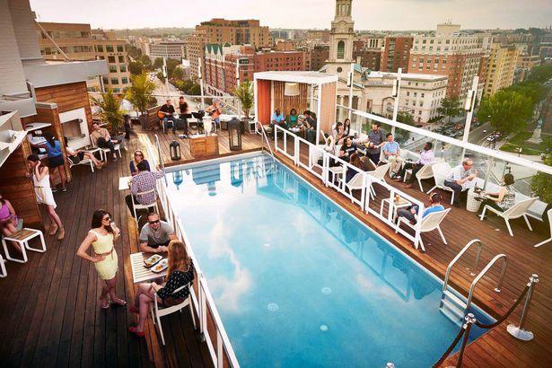 DNV Rooftop Lounge, Washington, D.C.