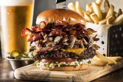 The Boss Beef Burger, Chili's