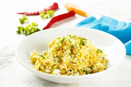 Rice & Squash Pilaf