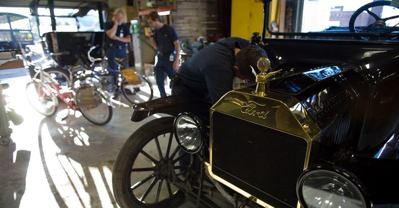 The Henry Ford Museum, Detroit