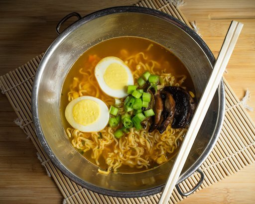 soy egg scallion ramen