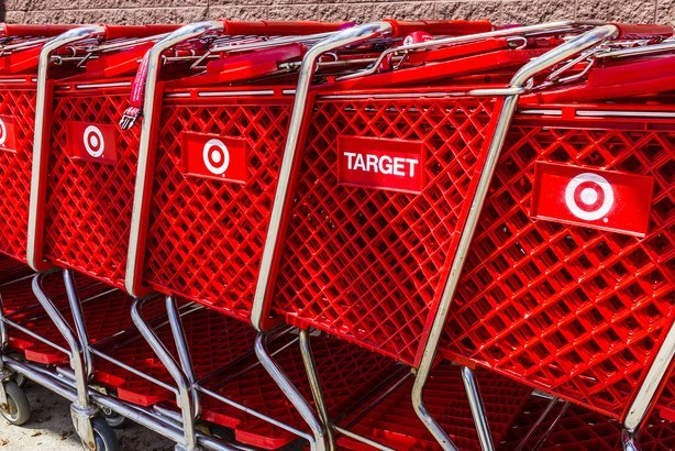 Target baskets in a row