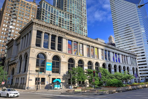 The Chicago Cultural Center in Chicago