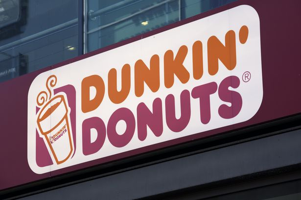 dunkin donuts sign