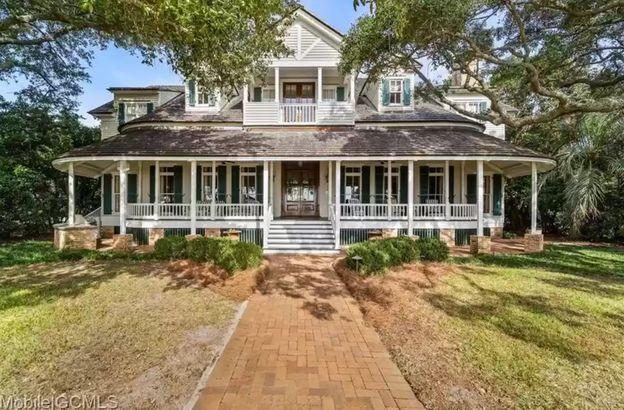 Alabama waterfront home