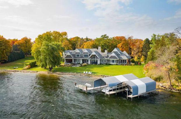 Minnesota waterfront home