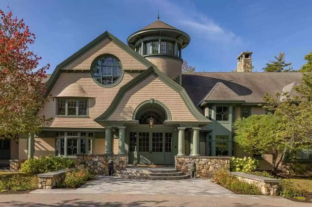 New Hampshire waterfront home