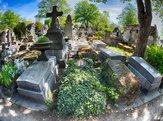 Monumental Pere-Lachaise Cemetery, Paris
